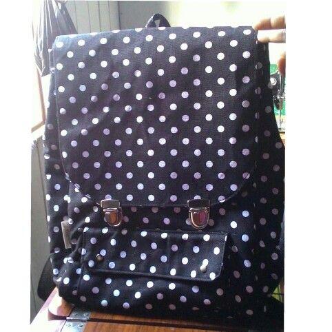 Polka Backpack