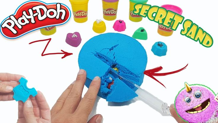 Learn colors play doh modelling clay bodysuit baby | kinetic sand full funny bugs