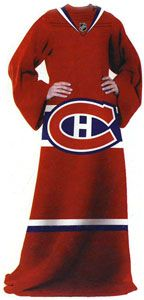"""COUVERTURE AVEC MANCHES (SNUGGIE) 122CM X 180CM BLANKET WITH SLEEVES (SNUGGIE) 48"""" X 71"""" SPORTS"""