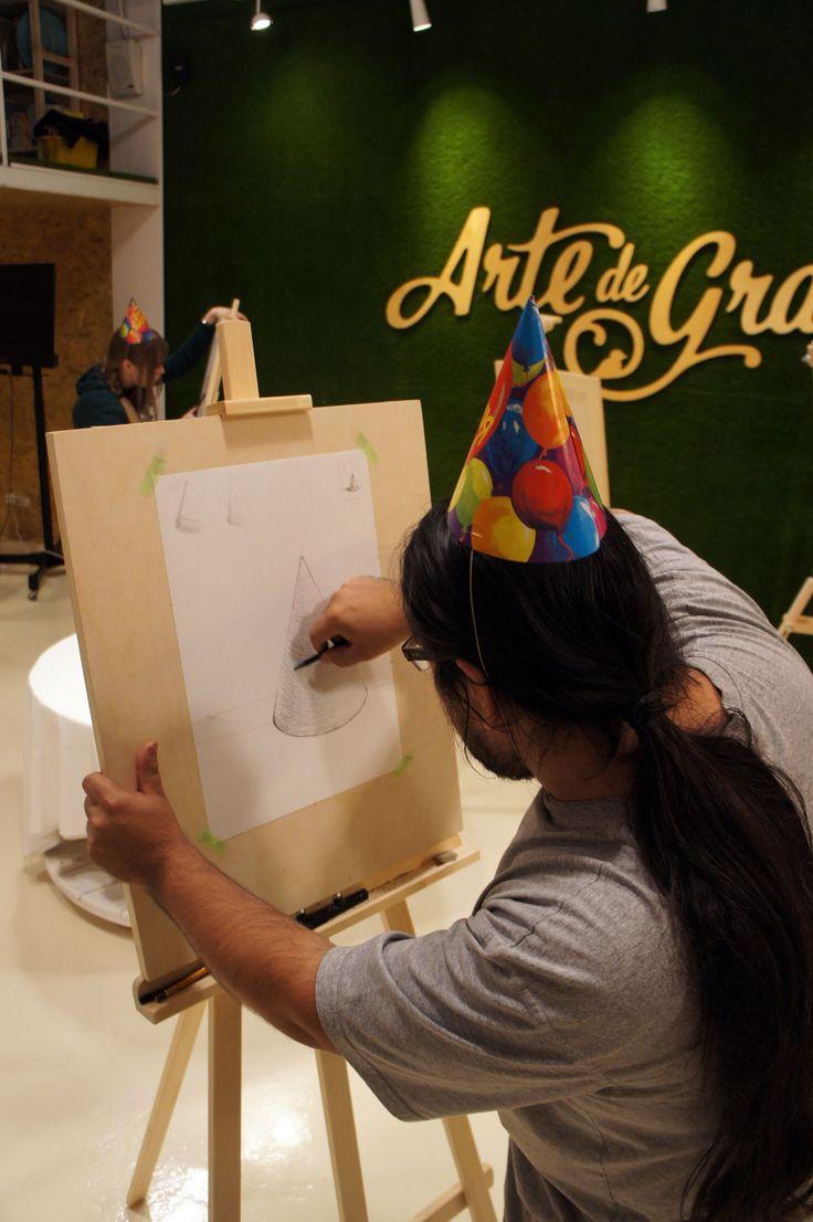 Arte de Grass - Школа скетчинга и дизайна
