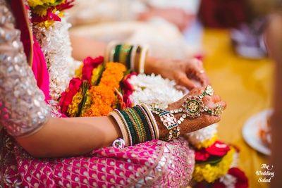 Haath phool , emerald and polki haath phool, hand ornaments for bride