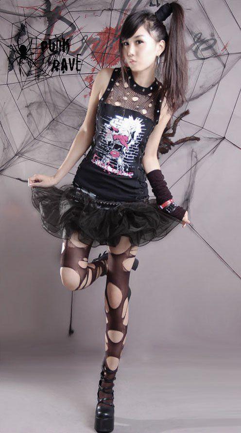 Lolita Punk Fashions - Harajuku Girl