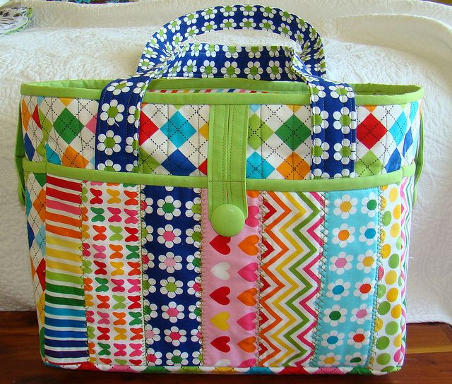 Tote by Lori H. Designs, via Flickr