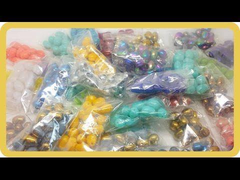 Tantissime gocce di vetro colorato per abbellire creazioni con perline t...