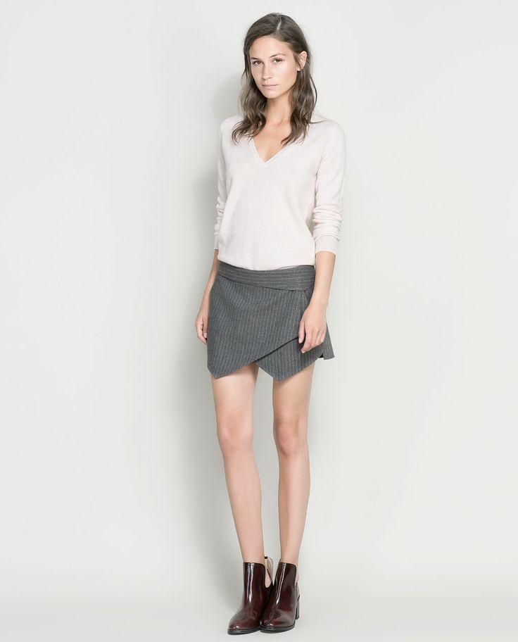 Image 1 of PINSTRIPE SKORT from Zara $59.90