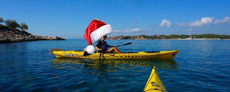 Photo: Sea-Kayaking in #Greece  10 budget friendly #adventure #travel #gift…