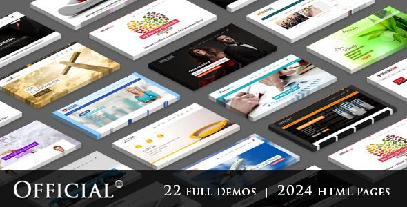 Official is a Clean and Corporate Friendly multi-purpose, multi-concept and multi-demo HTML5...