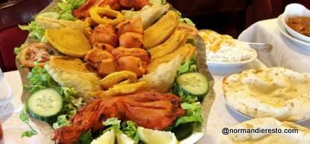 Restaurant indien Le Kashmir au havre Sur place ou a emporter Livraison à domicile