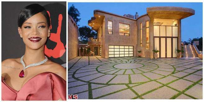 Rihanna home - Getty Images/Trulia