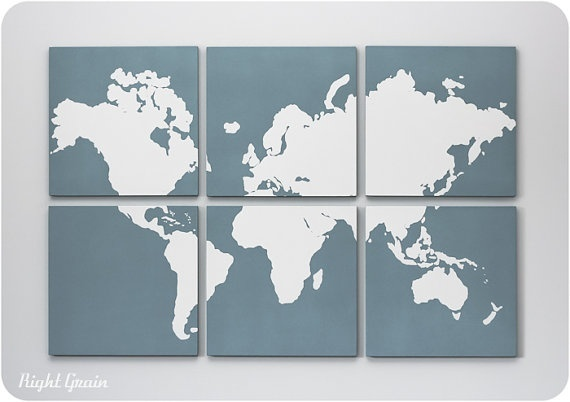 World Map World Map World Map.: Wall Art, Ideas, World Maps, Map Screen, Diy Project, Room