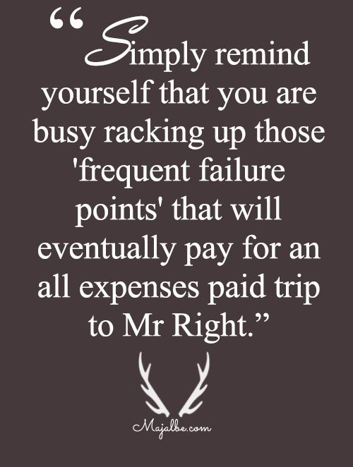 Way To Mr. Right Love Quotes