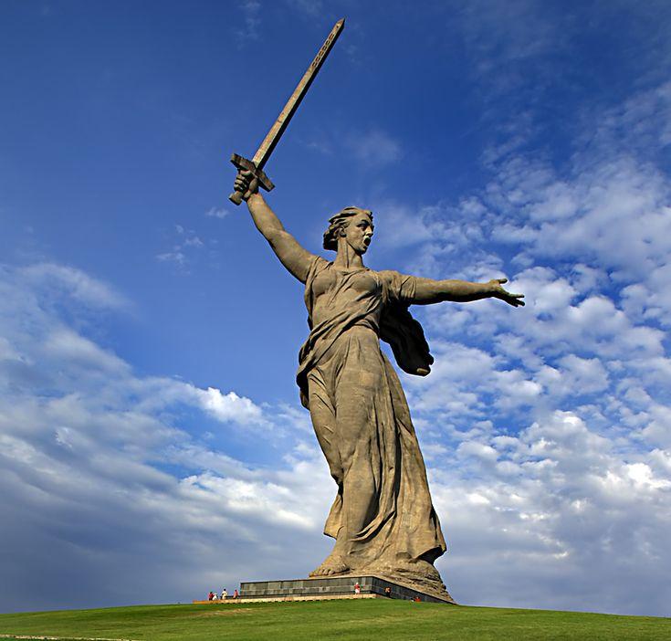 The Motherland Calls - Volgograd, Russia