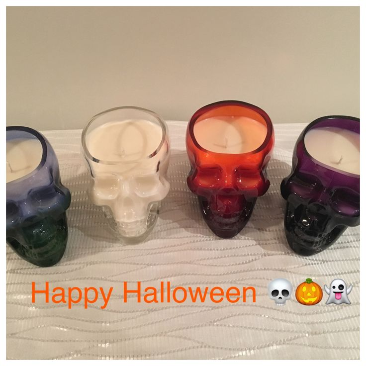 Skull Soy Candles