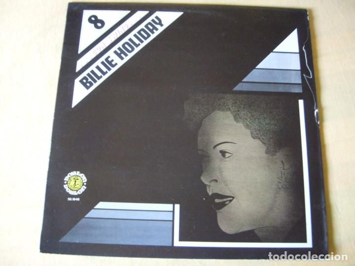 BILLIE HOLIDAY CON SWING DIAL DISCOS 1981