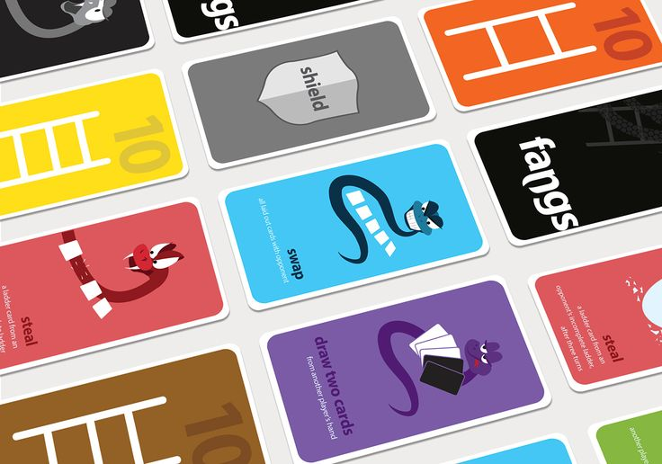 Fangs // Card Game Design on Behance