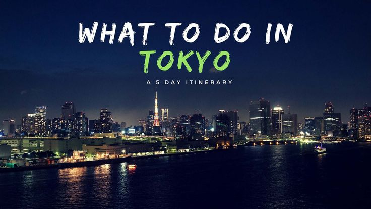 What To Do In Tokyo - A 5 Day Tokyo Itinerary - Nerd Nomads