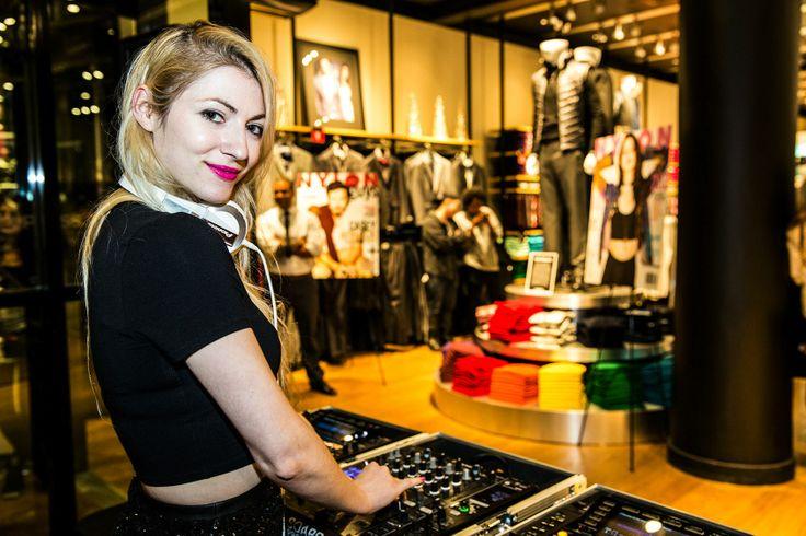 NYLON x Express Store Grand Opening - DJ Brittney Kernan