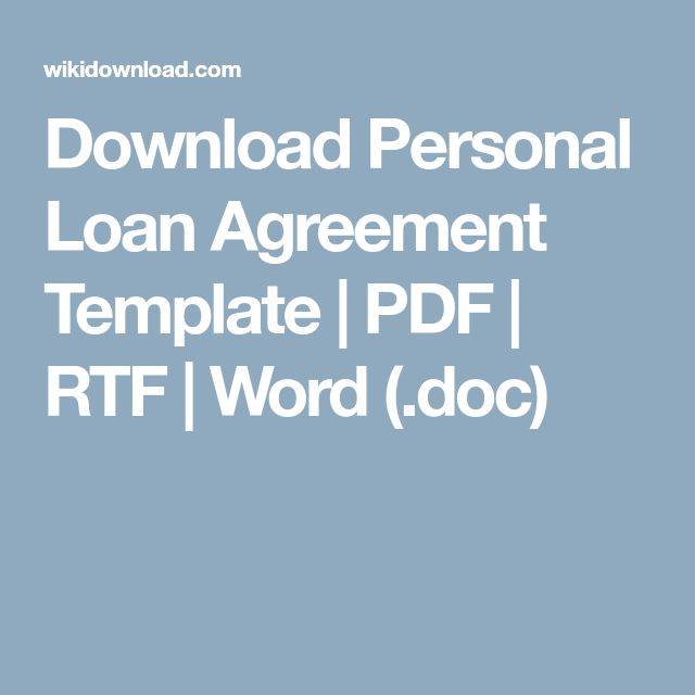 18 best OnLine images on Pinterest Resume templates, Sample - loan agreement between two individuals