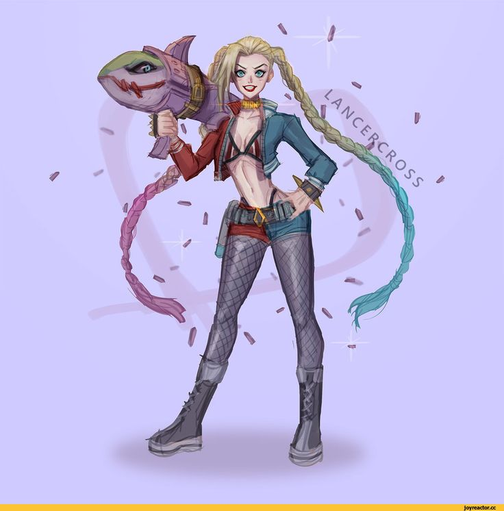 Harley Quin (DC comics) / Jinx (League of Legends) league of legends champions
