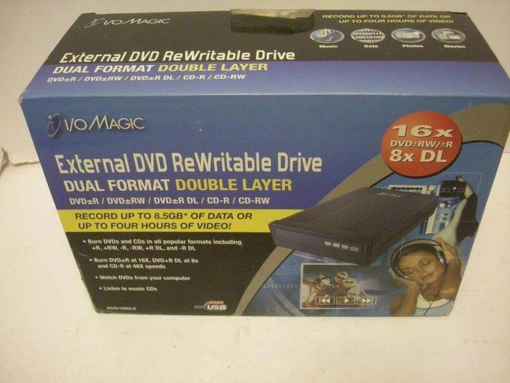 I/OMagic IDVD168DLE - Disk Drive - DVD±RW (±R DL) / DVD-RAM - 16X/16X/5X - Hi-Sp #IOMagic