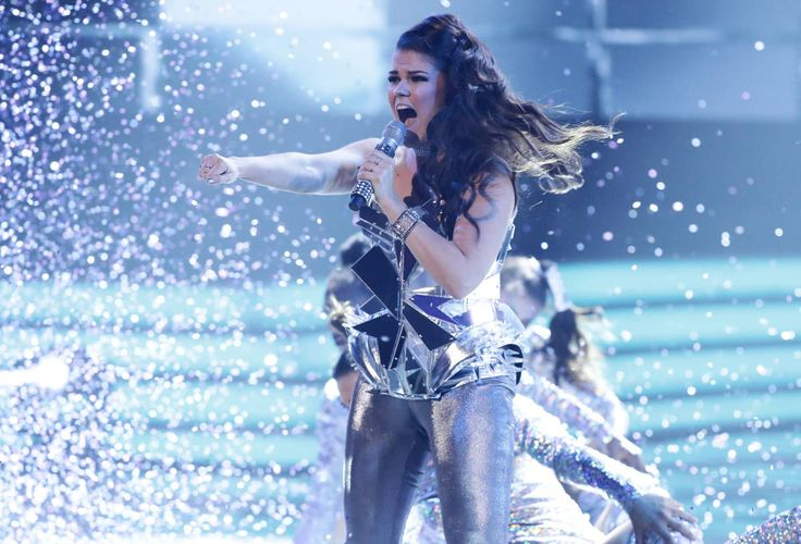 Saara Aalto. No More Tears (Enough Is Enough) and the Finnish Saara Aalto's presentation charmed the jury entirely in English X Factory in November 2016.