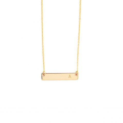 Halskette mit Gravur in Gold - MADELEINE ISSING