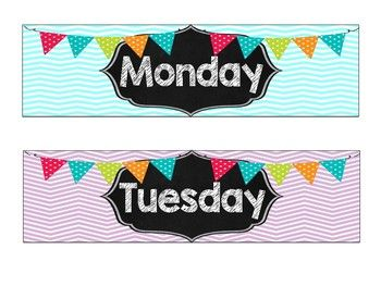 Looking labels to complement a chalkboard or bright colors themed classroom? Look no further! Create an organized classroom with this trendy set of labels. Set includes labels that will fit a plastic 3 drawer organizer: Monday, Tuesday, Wednesday, Thursday, Friday, Grade, Copy, File, and Sub $2