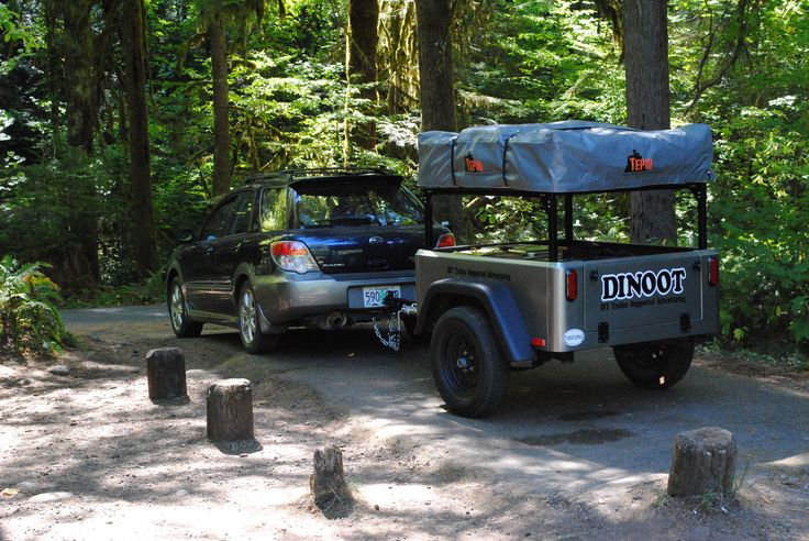 diy compact camping trailer