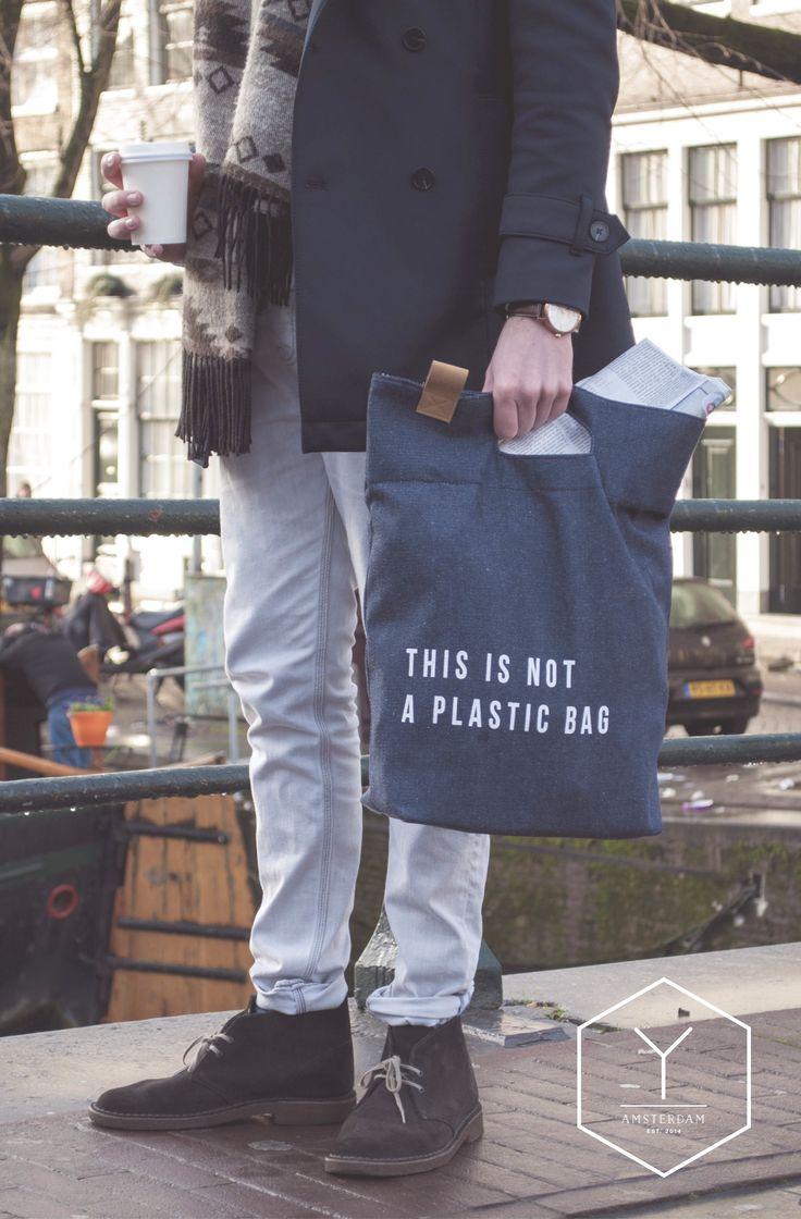 Yaco | THIS IS NOT A PLASTIC BAG  www.yaco-studio.com