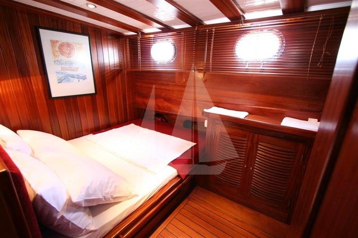 luxury cabins of M/S Trippin luxury gulet