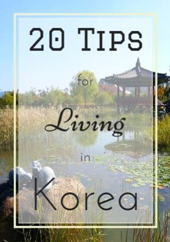 20 Important Tips for Expat Living in Korea