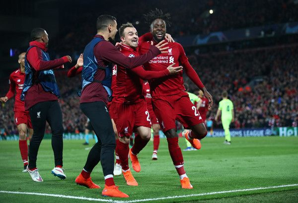 Xherdan Shaqiri Photos Photos Liverpool Vs Barcelona Uefa Champions League Semi Final Second Leg Champions League Final Champions League Liverpool