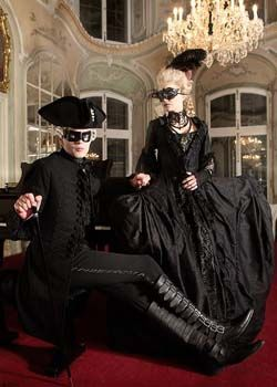 Парные костюмы на Хэллоуин
