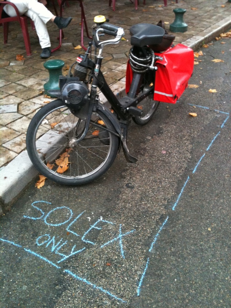 """zone bleu """"solex only"""" - Sumène (30)"""