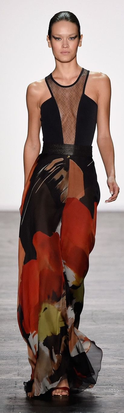 Carmen Marc Valvo Spring 2016 ~ New York Fashion Week