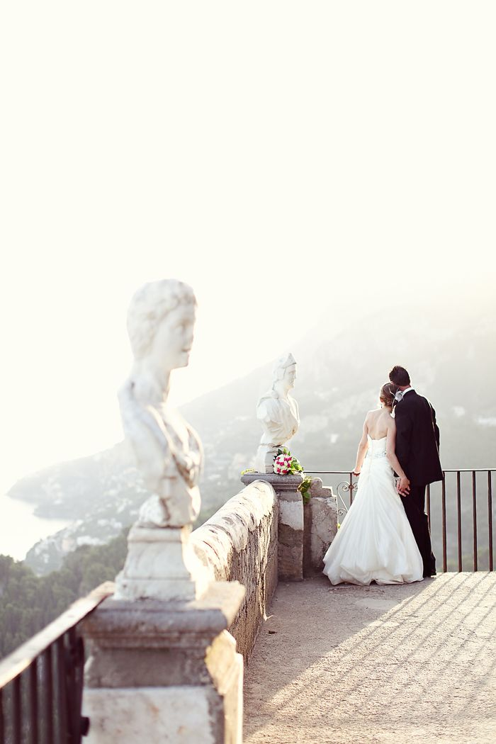 Positano Italy Wedding. reminds me of the pemberly estate in pride and prejudice