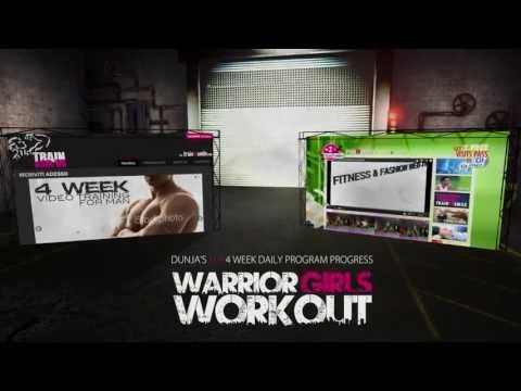 EVERYDAY IS A GOOD DAY TO TRAIN AND DO YOUR BEST. Here it is the 1st day of Warrior Girls Workout, let's take a look. Eat well Train hard & Smile. http://www.traintosmile.com/trainwithus