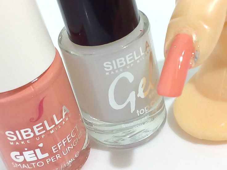 Smalto Gel Pesca + Top Coat Semipermanente No UV Moda Nail Art Moda Unghie