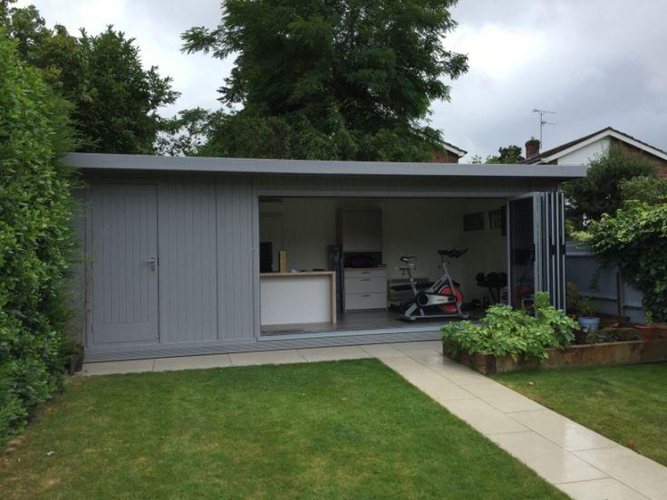 Sleek & impressive 7,5m x 3,1m combination garden office & store