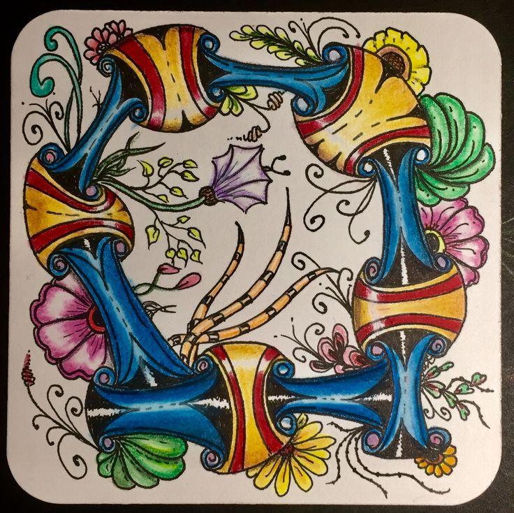 Zentangle Color