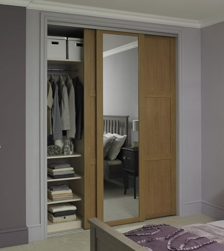 9 best Porte coulissante images on Pinterest Cupboard doors - porte garde robe coulissante mesure