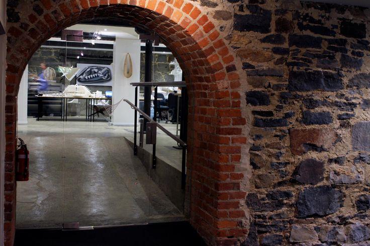 Studio Van Brandenburg #glassdoors #enterance #studio #architecture