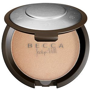 Limited Edition Shimmering Skin Perfector® Pressed  in Champagne Pop #beccaxjaclynhill