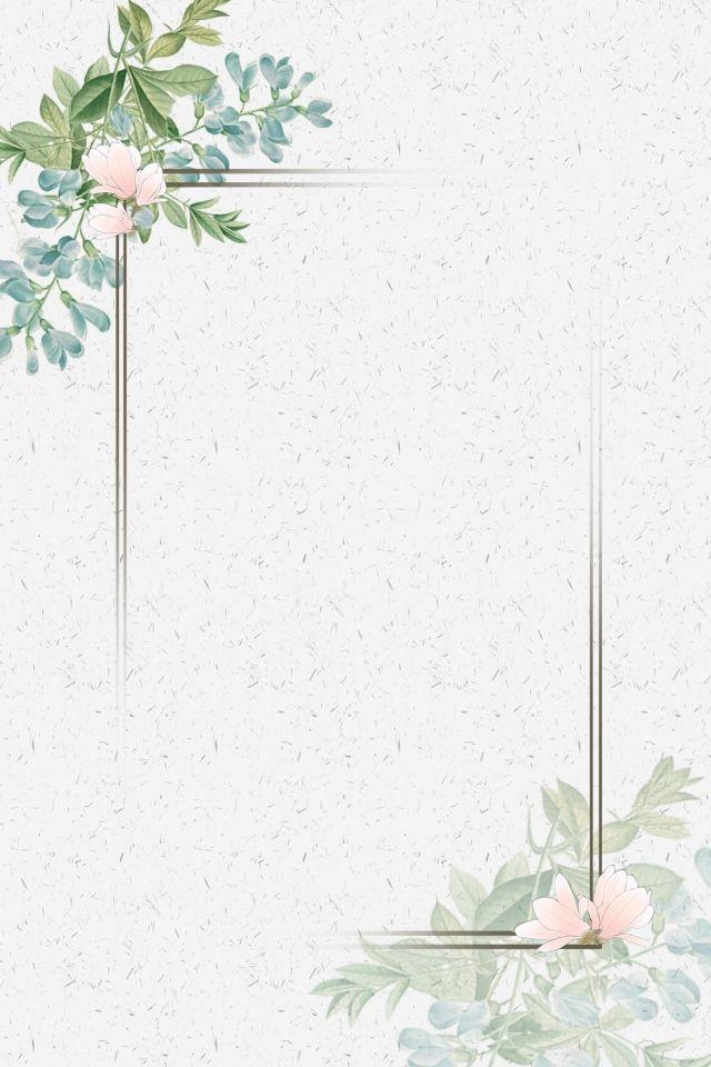 Literarischer Frischer Blumenrahmen Flower Frame Flower Graphic Design Floral Poster