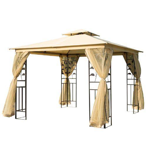 Luxus Pavillon Gartenpavillon Partyzelt Festzelt Gartenzelt Pagode 3x3 m