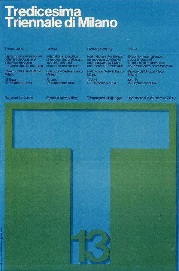 XIII Triennale di Milano, 1964