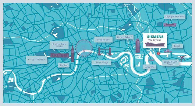 Crush | Siemens - The Crystal Map Illustration