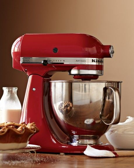 KitchenAid Artisan Stand Mixer in Cinnamon!!!