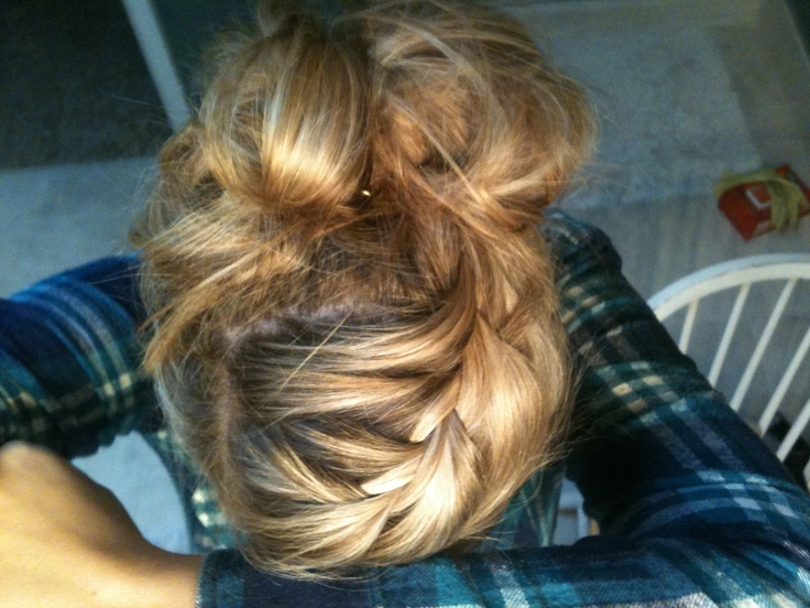 French braid pu...
