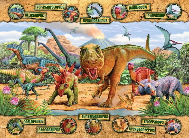 Buy Ravensburger - Dinosaurs Puzzle 100pc